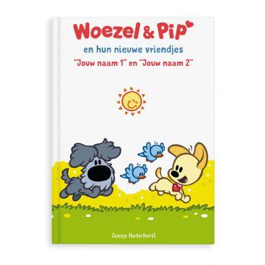 Boek met naam en foto - Woezel & Pip - Vriendjes - XL boek (Hardcover)