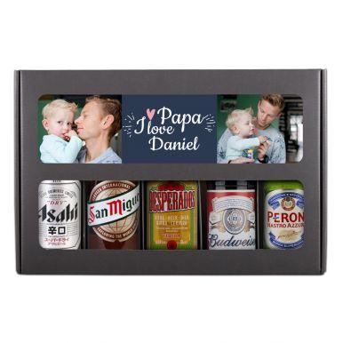 Vaderdag bierpakket bedrukken - Internationaal