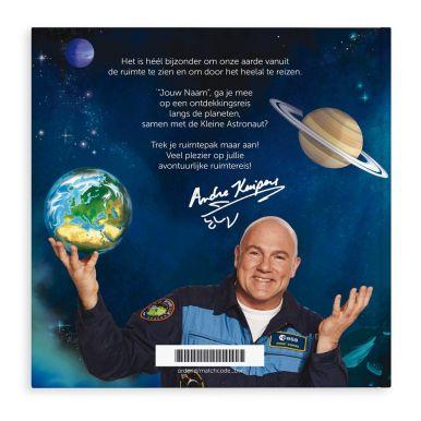 De kleine astronaut en naam - Hardcover XXL