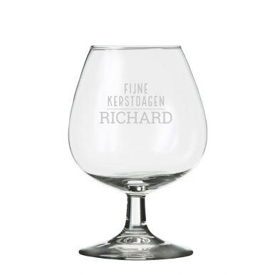 Cognac glazen graveren