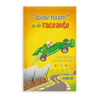 Boek - Daan in de raceauto