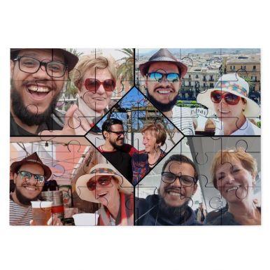 Luxe puzzel bedrukken - 30 stukjes