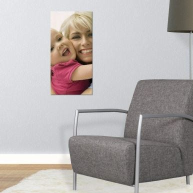 Foto op houten paneel