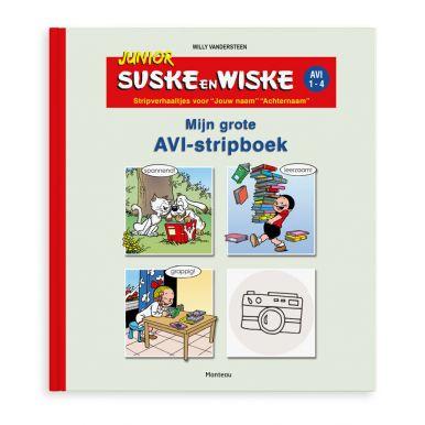 Junior Suske & Wiske stripboek jongen