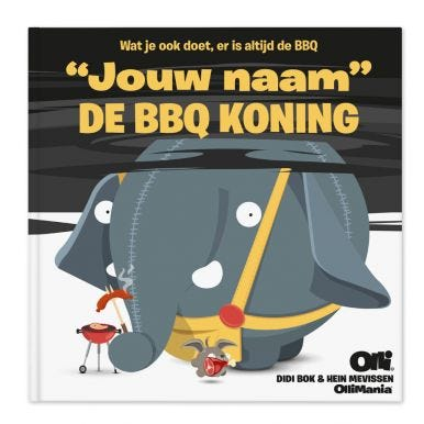 Ollimania - The BBQ King - XXL versie!