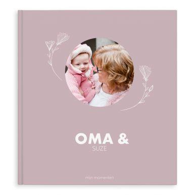 Momenten fotoboek maken - Oma & ik/wij