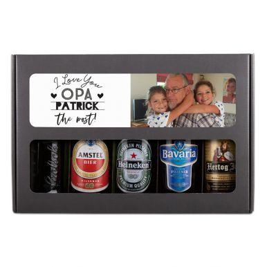 Vaderdag bierpakket bedrukken - Hollands