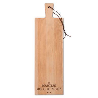 Houten broodplank graveren - Beuken - Langwerpig - staand (S)