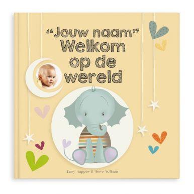 Babyboek met naam - Welkom op de wereld