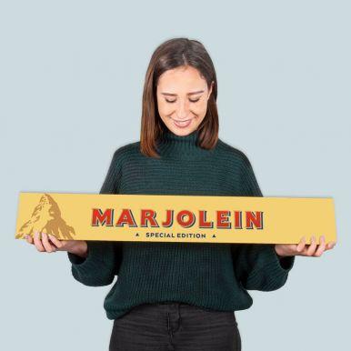 Toblerone XXL reep met naam - 4,5 kilo