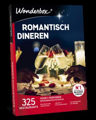 Wonderbox Romantisch dineren