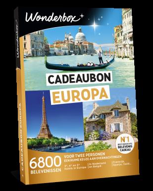 Wonderbox cadeaubon Europa
