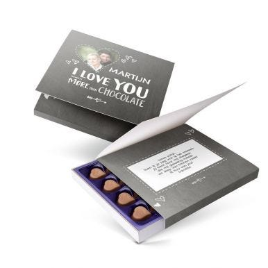 Milka giftbox bedrukken - Liefde
