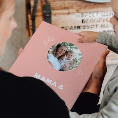 Momenten fotoboek - Mama & ik