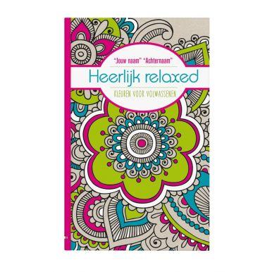 Kleurboek voor volwassenen - Heerlijk relaxed - Softcover