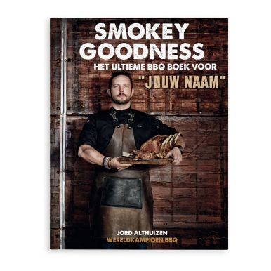 Smokey Goodness BBQ boek - Hardcover
