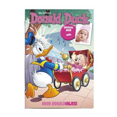 Donald Duck geboorte - meisje