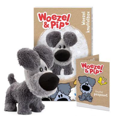 Persoonlijke Woezel & Pip knuffelbox - Woezel