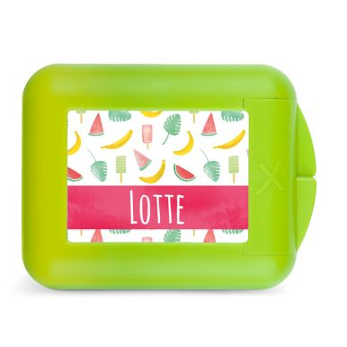 Snackbox bedrukken - Lime
