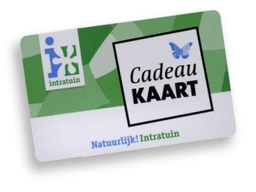 Intratuin Cadeaukaart (bezorgservice door Primera winkel)
