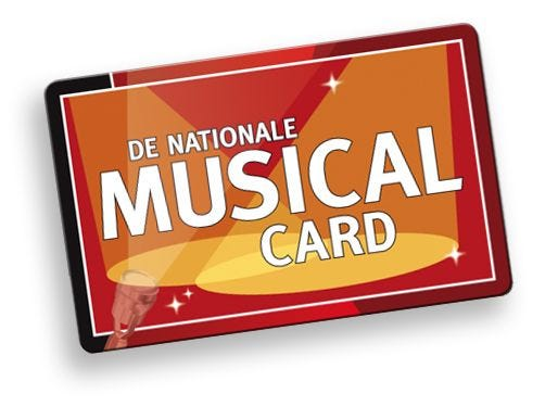 De nationale musical card