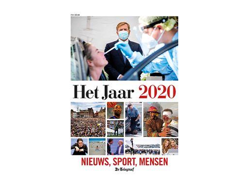 De Telegraaf - Het Jaar 2020 (bezorgservice door Primera winkel)