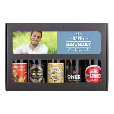 Bierpakket bedrukken - Verjaardag - Belgisch