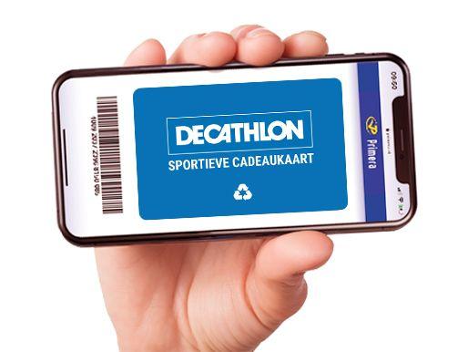 Decathlon digitale cadeaukaart