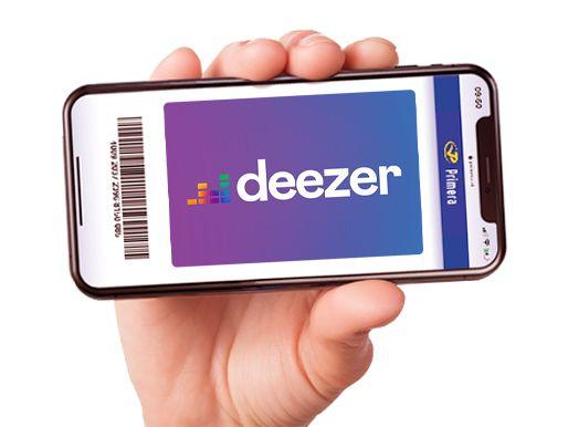 Deezer Premium 3 maanden
