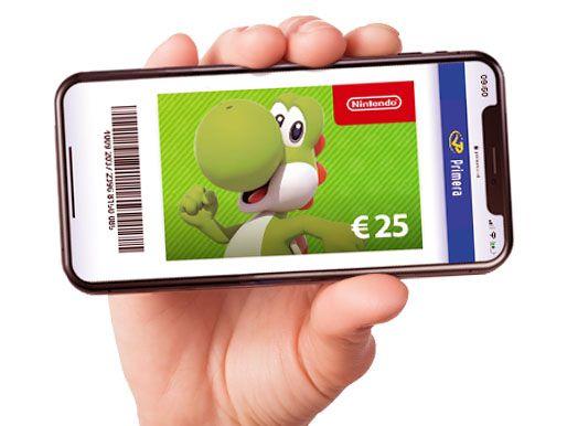 Nintendo code €25