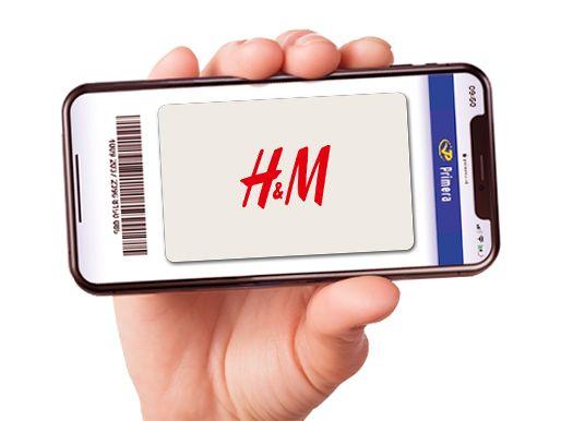H&M digitale cadeaukaart