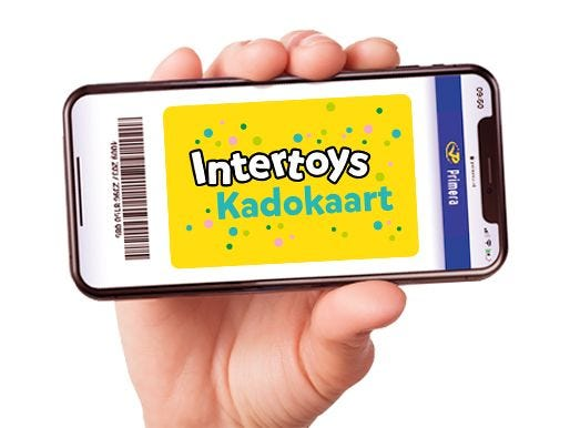 Intertoys digitale cadeaukaart