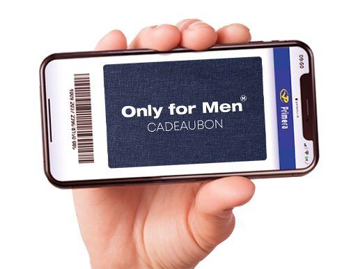 Only for Men digitale cadeaukaart