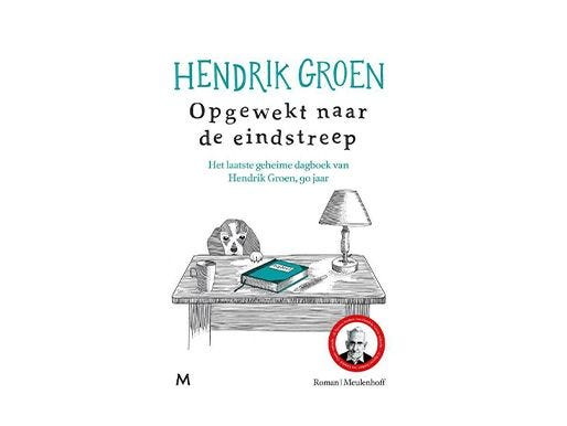 Opgewekt naar de eindstreep - Hendrik Groen (bezorgservice door Primera winkel)