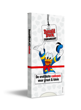 Bladcadeau Donald Duck