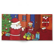 De kleine helper van de Kerstman - Hardcover