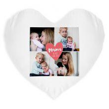 Moederdag kussen bedrukken - Hart