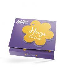 Zeg het met Milka giftbox bedrukken - Bedankt