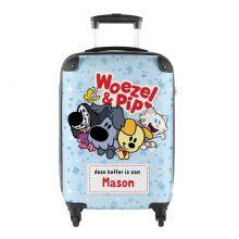 Woezel & Pip naamkoffer handbagage - Princess Traveller