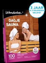 Wonderbox dagje sauna