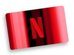 €25,- Netflix code