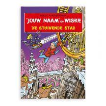 Persoonlijk stripboek - Suske en Wiske 'De stuivende stad' (Softcover)