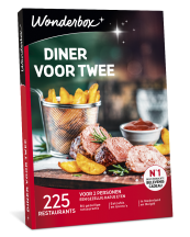 Wonderbox diner voor twee