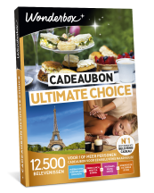 Wonderbox Cadeaubon Ultimate choice