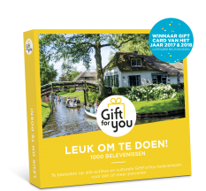 Gift For You Leuk om te doen!
