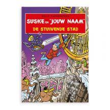 Persoonlijk stripboek - Suske en Wiske 'De stuivende stad' (Hardcover)
