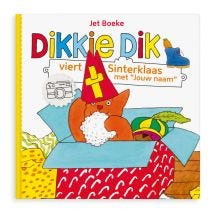 Dikkie Dik viert Sinterklaas - Softcover