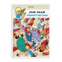 Persoonlijk stripboek - Jommeke 'Spaghetti Met Kaas' (Hardcover)