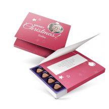 Milka giftbox bedrukken - Kerst - 110 gram