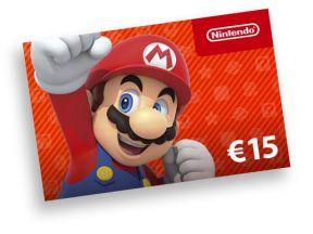 Nintendo giftcard €15